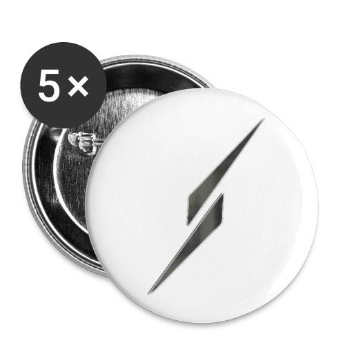 LOGO S 2019_000000 - Lot de 5 petits badges (25 mm)