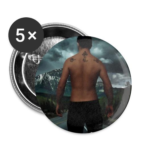 RoX! Walking 2.o - Confezione da 5 spille piccole (25 mm)