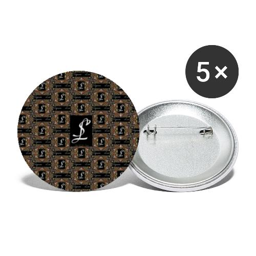 Simoes Signum Lux - Buttons klein 25 mm (5er Pack)