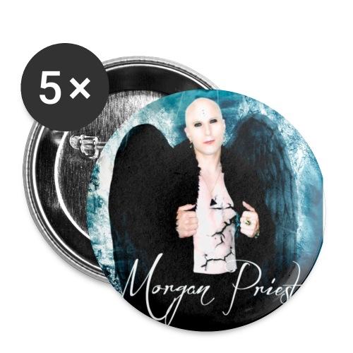 MORGAN PRIEST - Lot de 5 petits badges (25 mm)
