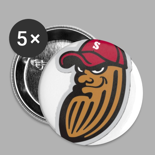 cacahuete png - Lot de 5 petits badges (25 mm)