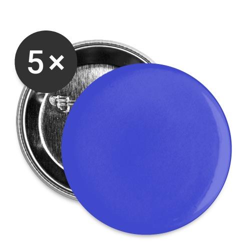 Blau - Buttons klein 25 mm