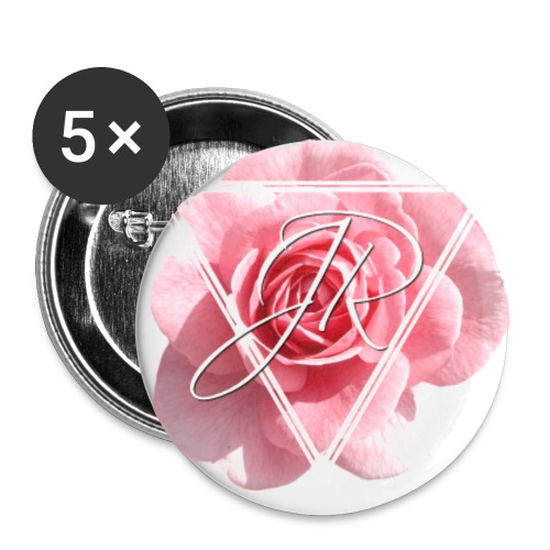 Rose Logo - Buttons small 1''/25 mm (5-pack)