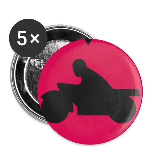 hås png - Små knappar 25 mm (5-pack)