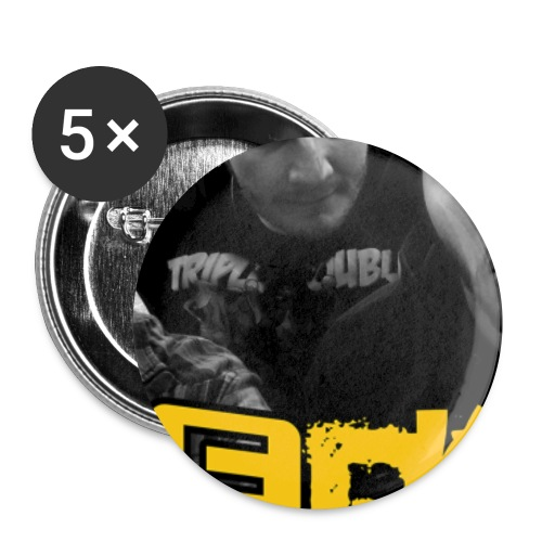 Jerks Button png - Buttons klein 25 mm (5er Pack)