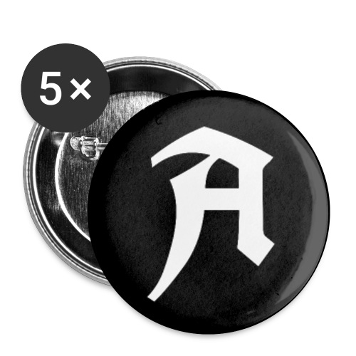 Button A - APPD - Buttons klein 25 mm (5er Pack)