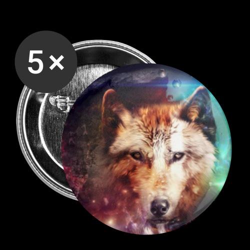 Lobo extraordinario - Chapa pequeña 25 mm