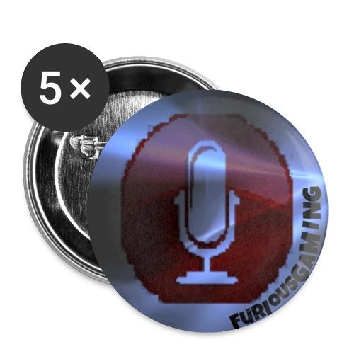 FG176 LOGO jpg - Buttons small 1''/25 mm (5-pack)
