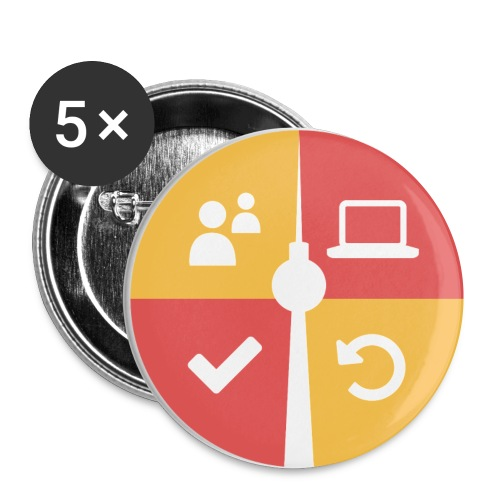 swk logo nur logo 01 png - Buttons small 1''/25 mm (5-pack)