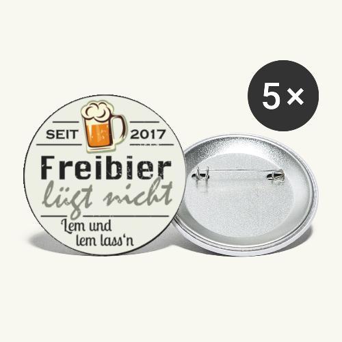 FLN-Button - Buttons klein 25 mm (5er Pack)