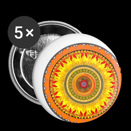 Exotische warmte - Buttons klein 25 mm