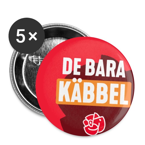 De Bara Käbbel - Buttons small 1''/25 mm (5-pack)