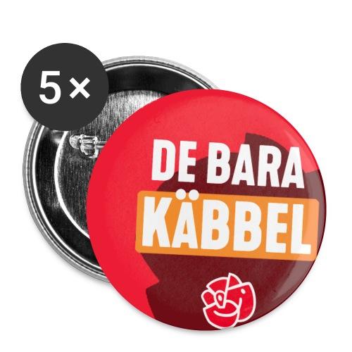 De Bara Käbbel - Små knappar 25 mm (5-pack)