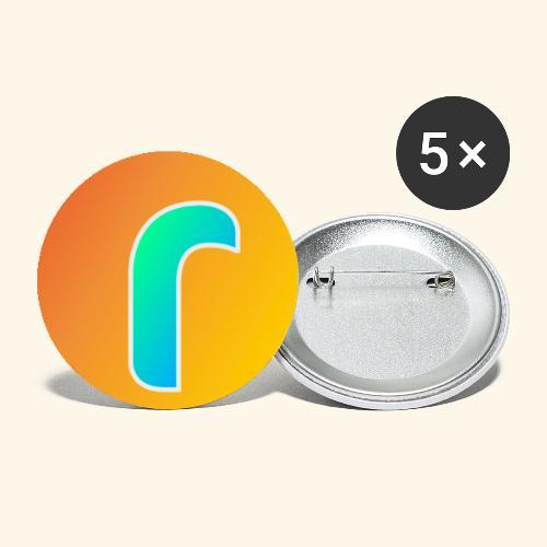 spillette - Confezione da 5 spille piccole (25 mm)