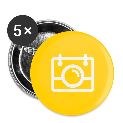 AYWMC yellow badge - Buttons small 1''/25 mm (5-pack)