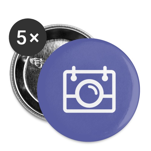 AYWMC purple badge - Buttons small 1''/25 mm (5-pack)