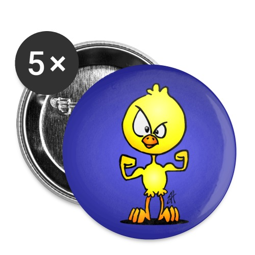 Power chick - Buttons small 1''/25 mm (5-pack)