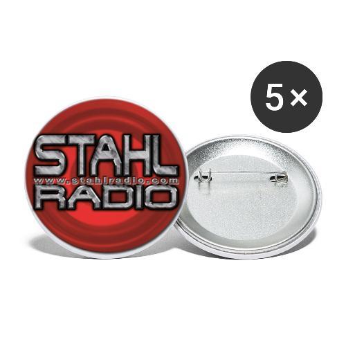 Logo Rund - Buttons klein 25 mm (5er Pack)