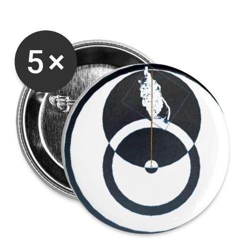 Isle Of Man QED - Buttons small 1''/25 mm (5-pack)