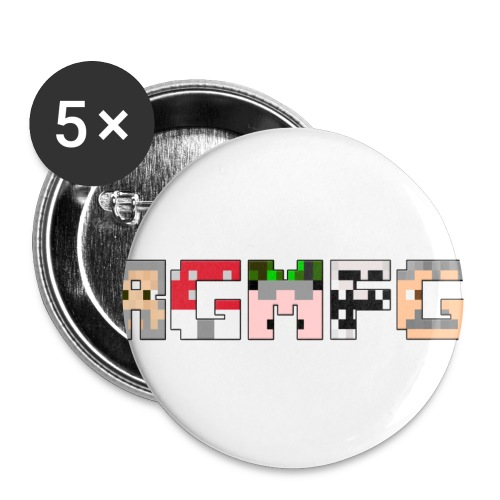 BG png - Buttons/Badges lille, 25 mm (5-pack)