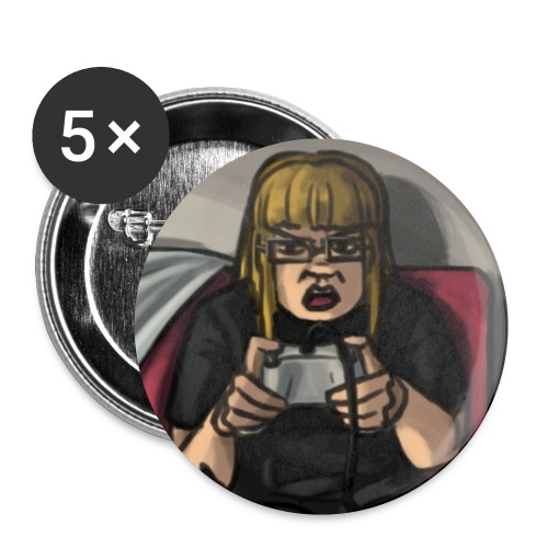 MA Cartoon - Buttons small 1''/25 mm (5-pack)