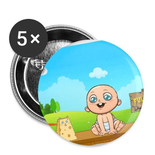 Babyfuldorale4 - Buttons/Badges lille, 25 mm