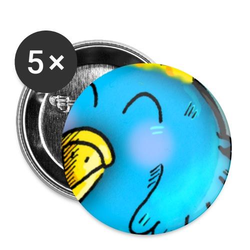 Spilletta di Cippi - Confezione da 5 spille piccole (25 mm)