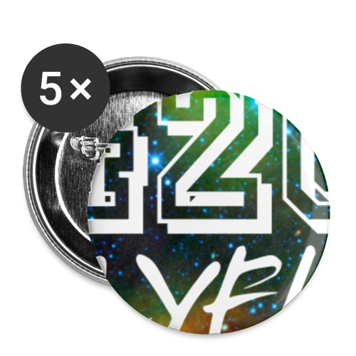 420LYFH Logo Circle - Buttons small 1''/25 mm (5-pack)