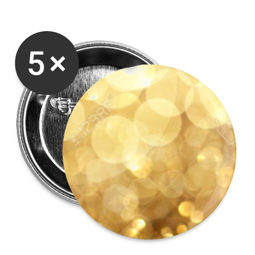SparklesGang Sparkles products - Buttons small 1''/25 mm (5-pack)