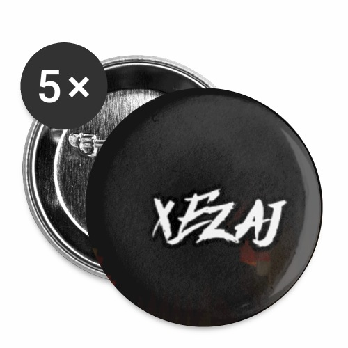 xEzaj logo - Buttons klein 25 mm (5-pack)