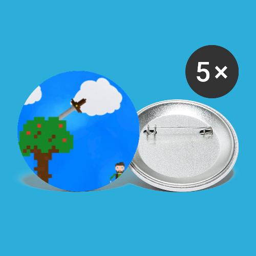 Forest adventure - Buttons klein 25 mm (5-pack)