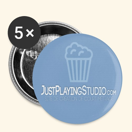 Tapis de souris - JustPlayingStudio - Lot de 5 petits badges (25 mm)