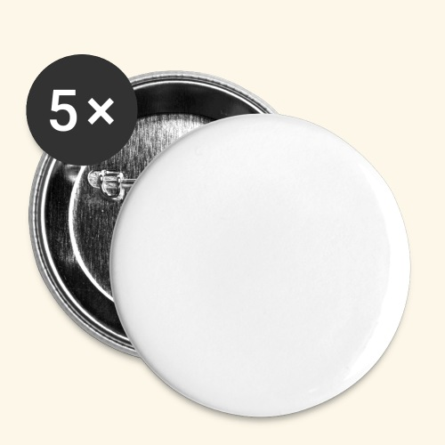 DETONIX WHITE CHINA THEMED - Buttons small 1''/25 mm (5-pack)