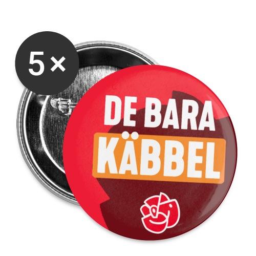 De Bara Käbbel - Buttons small 1''/25 mm (5-pack)