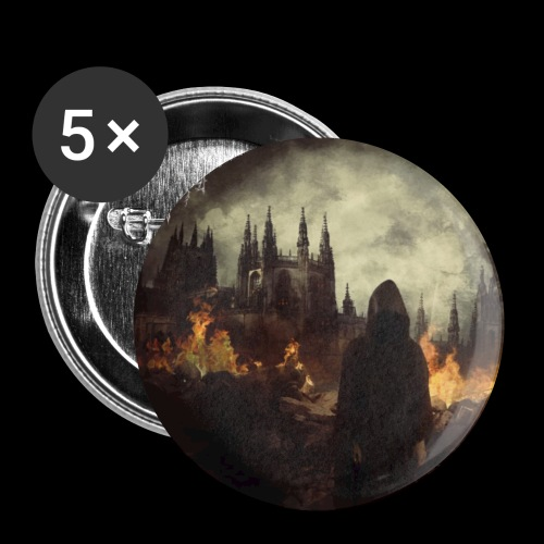Jerusalem Burning - Buttons small 1''/25 mm (5-pack)
