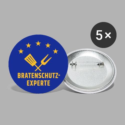 EU Bratenschutz-Experte - Buttons klein 25 mm (5er Pack)
