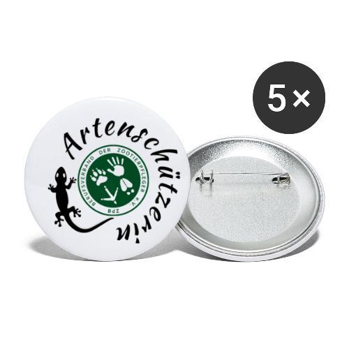 Artenschützerin - Buttons klein 25 mm (5er Pack)