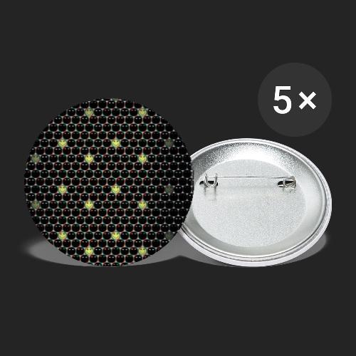 Cocon de douceur - Lot de 5 petits badges (25 mm)