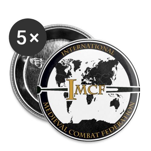 IMCF Logo final 84951 04 png - Lot de 5 petits badges (25 mm)