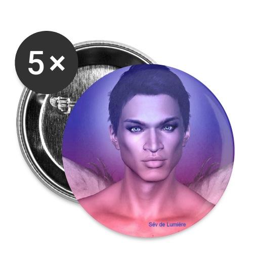 mikhael badge - Lot de 5 petits badges (25 mm)