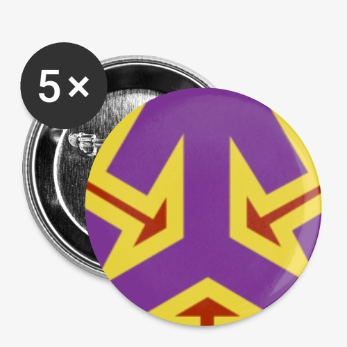 The Federation Emblem - Buttons small 1''/25 mm (5-pack)