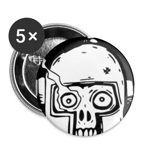 knapp - Små knappar 25 mm (5-pack)