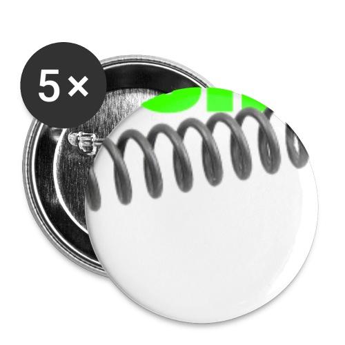 roc200mm - Buttons klein 25 mm (5er Pack)