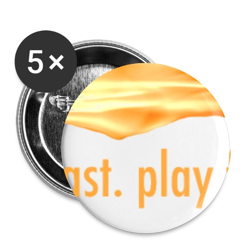 Buttonwhite gif - Buttons klein 25 mm (5er Pack)