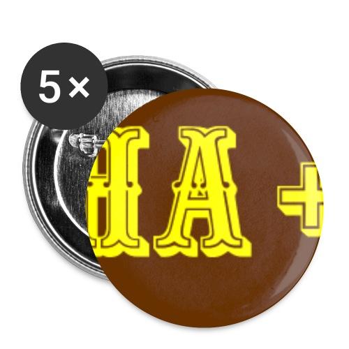 CHA +3 Bonus für Rollenspieler - Buttons klein 25 mm (5er Pack)