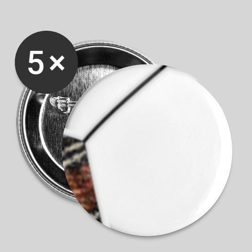 Reiskafudis - Rintamerkit pienet 25 mm (5kpl pakkauksessa)
