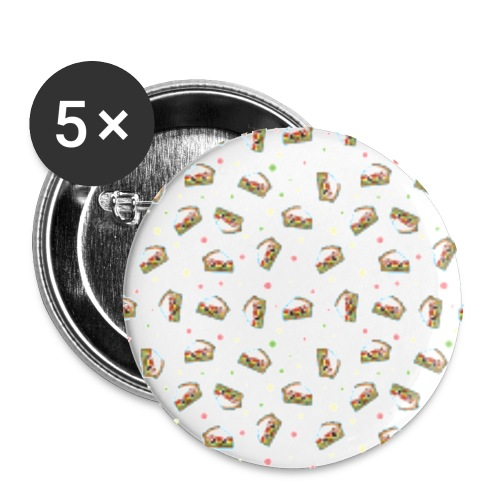 Pie merchandise - Buttons small 1''/25 mm (5-pack)