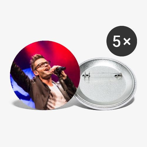 Andy Sergeant - Buttons klein 25 mm (5-pack)