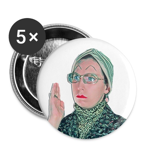 madam1 - Buttons small 1''/25 mm (5-pack)