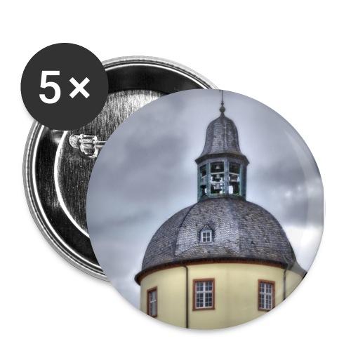 Dicker Turm - Buttons klein 25 mm